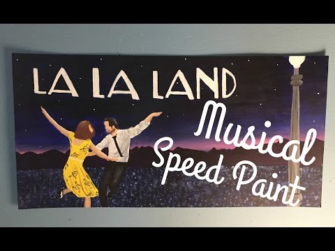 Musical Speed Paint: La La Land City of Stars