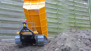 RC CONSTRUCTION l  RC Truck  and other nice machines  at work!