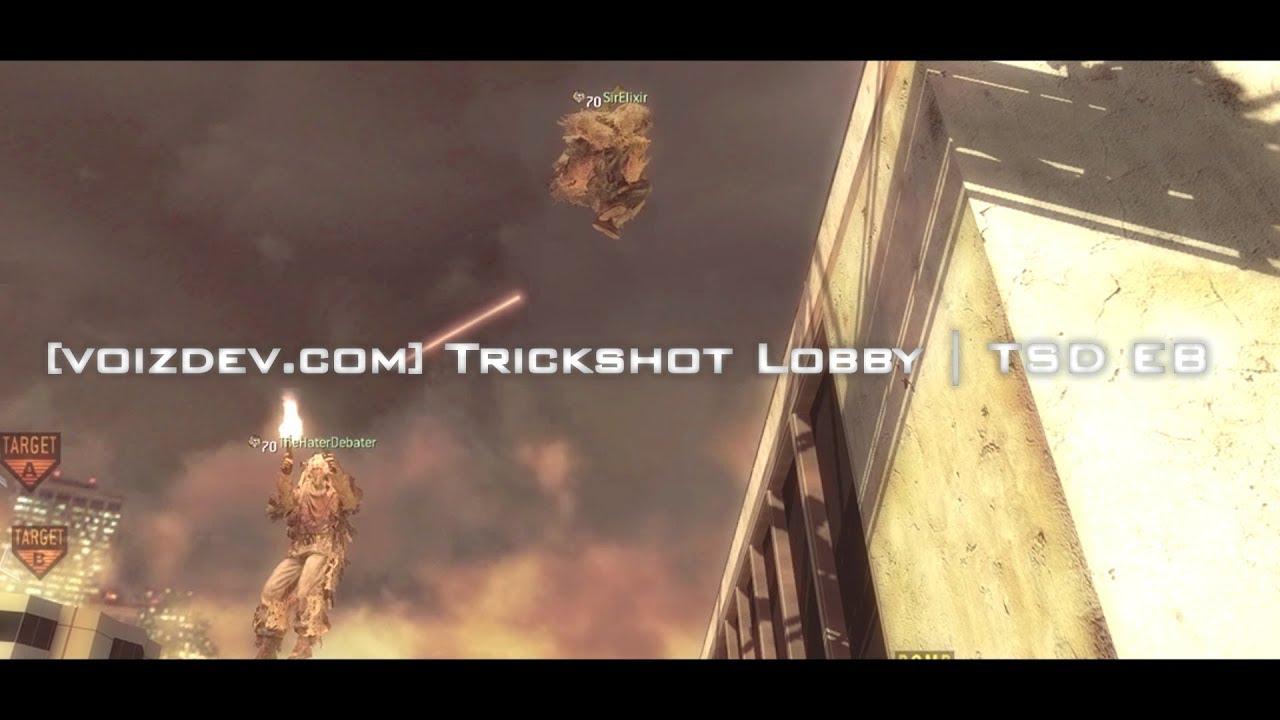 [voizdev com] Trickshot Lobby | TSD EB | IW4x Server Promo