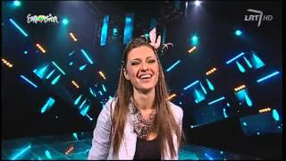"Ieva Zasimauskaitė ""You Found Me"" @ Lithuania in the Eurovision Song Contest 2014"