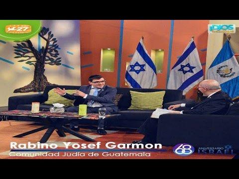 Entrevista con el Rabino Y. GARMON en Canal 27 sobre ISRAEL con el pastor F. SOLARES
