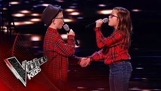 Ava and Alfie Perform 'Photograph' | Blind Auditions | The Voice Kids UK 2019