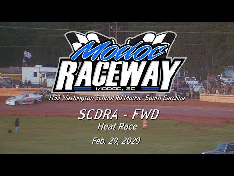 SCDRA FWD @ Modoc Speedway Feb  29, 2020