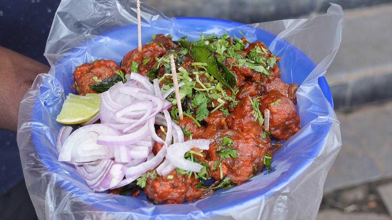 Chicken Manchurian | Street Food | Chicken Manchurian Cooking