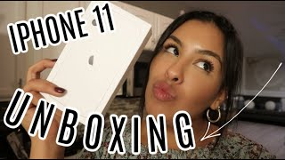 IPHONE 11 UNBOXING!! (finally)