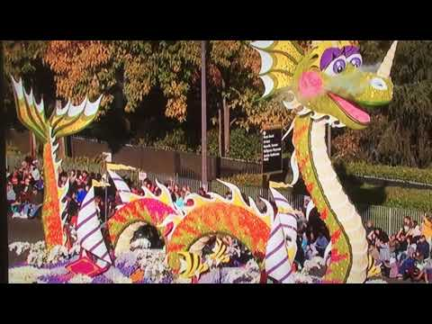 2018 Rose Parade - Books Bring Dreams to Life float