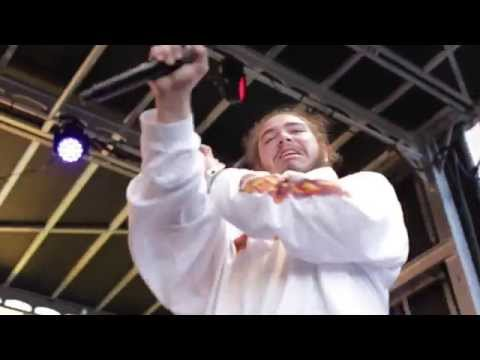 Post Malone Performs 'White Iverson' at Fool's Gold Day Off in LA