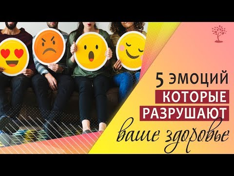 0 5 эмоций, которые разрушают ваше здоровье