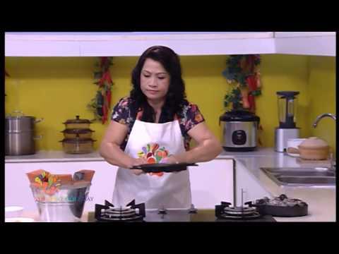 Bánh bông lan trứng muối - Vui Sống Mỗi Ngày [VTV3 – 30.12.2014]