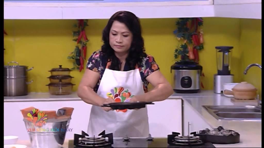 Bánh bông lan trứng muối – Vui Sống Mỗi Ngày [VTV3 – 30.12.2014]