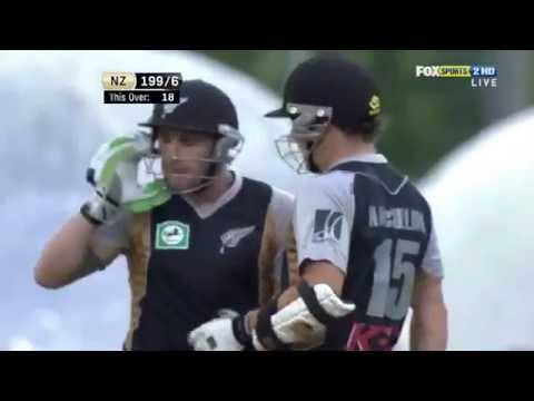 Brendon McCullum 116 - His best innings in International Cricket, scoop shot used at its best!