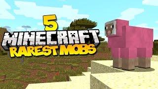 Top 5 Rarest Mobs In Minecraft
