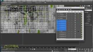 Работа со слоями в 3ds max. Структурируем сцену.