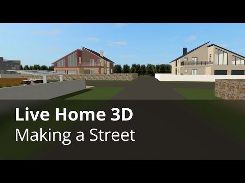Making a Street- Live Home 3D Pro for iOS/iPadOS Tutorials
