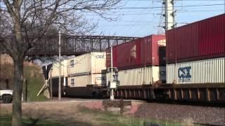 Railfanning C St 21st St Cedar Rapids, IA