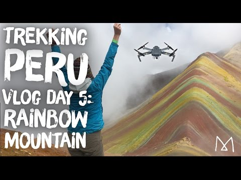 Peru Travel Vlog Day 5: Rainbow Mountain Trek (Vinicunca)