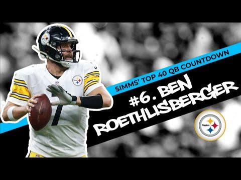 Chris Simms' Top 40 QBs: Ben Roethlisberger at No.6 | Chris Simms Unbuttoned | NBC Sports