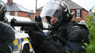 Belfast riot - Ardoyne road july 12th 2010