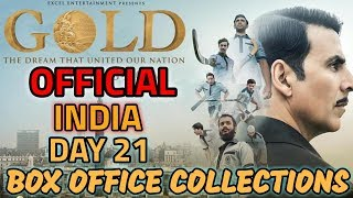 gold 21th day box office
