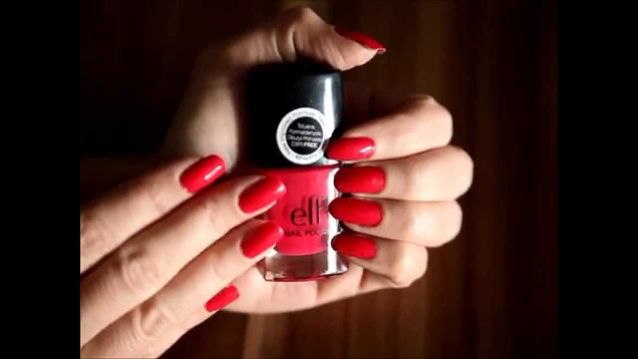 ELF Nail Polish in Electric Pink Review & Swatches