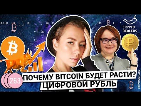 Почему Bitcoin будет расти? |  Цифровой рубль