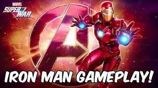 Marvel Super War - Iron Man Gameplay! First Look! - Marvel MOBA 2019