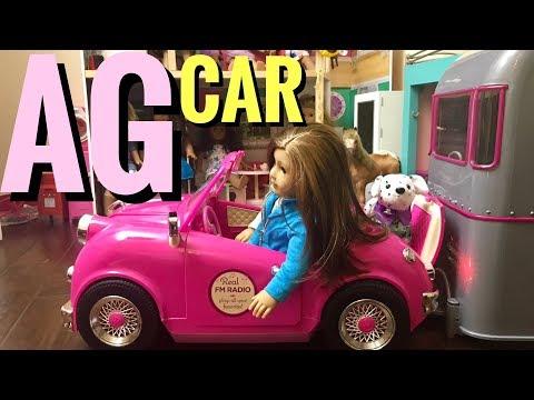 American Girl Convertible Car