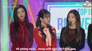 [VIETSUB] 171202 Red Velvet @ MelOn Music Awards 2017 - TOP10 Bonsang
