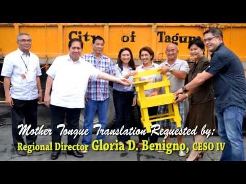 Davao Region Hymn Mother Tongue w Lyrics