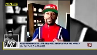 Floyd Mayweather Announces Manny Pacquiao Is In The Works?