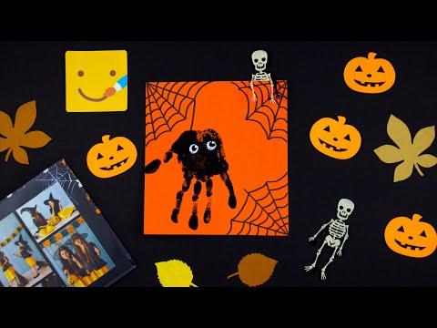 Как нарисовать паука/ Рисунки на Хэллоуин/DIY Halloween