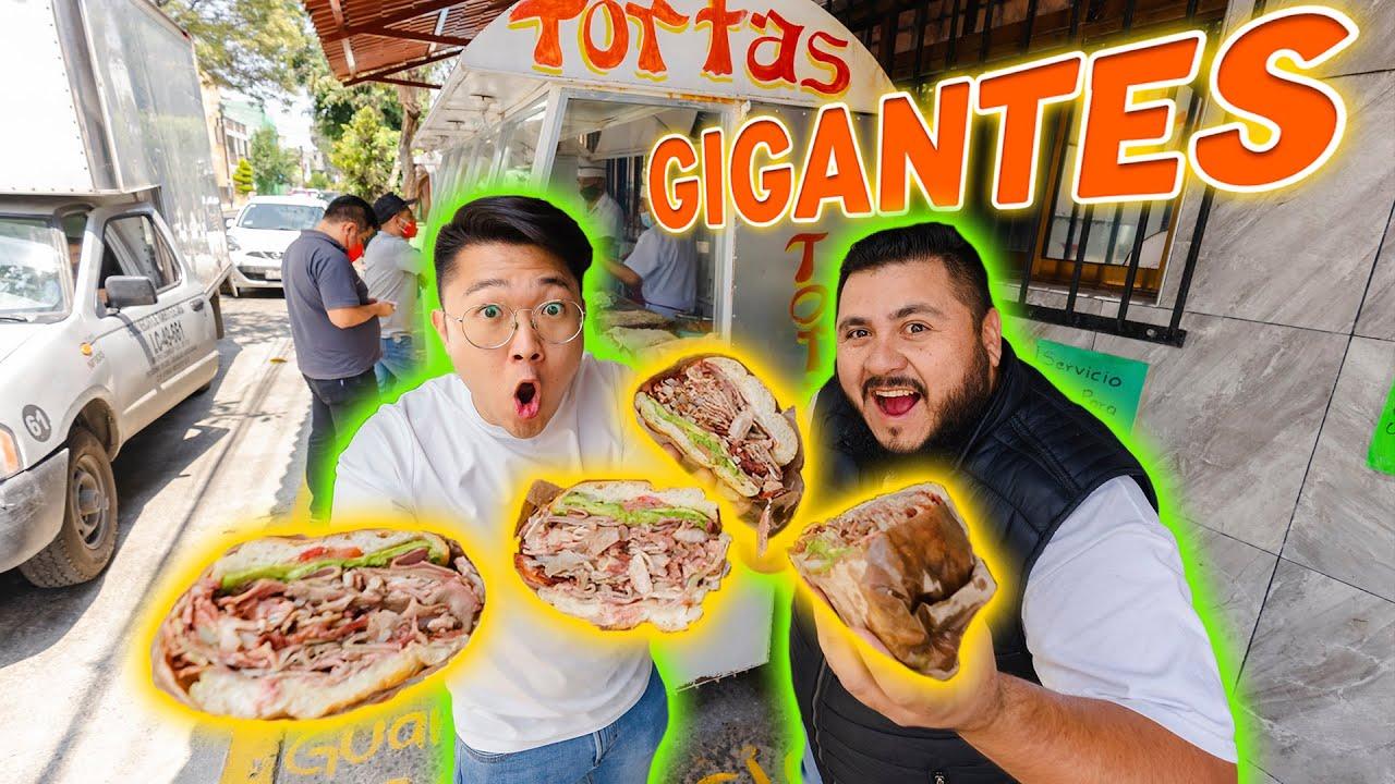 ¡¡AQUÍ VENDEN TORTAS GIGANTES DE LENGUA!!