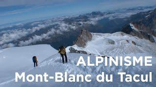 Mont Blanc du Tacul voie normale Chamonix Mont-Blanc alpinisme - 7784