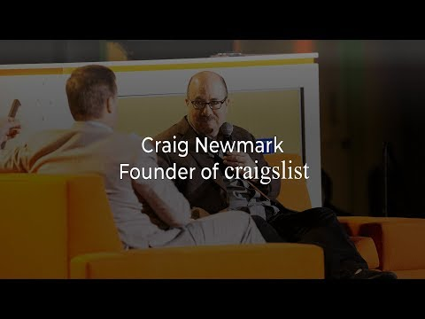 E871 Craig Newmark grew Craigslist w/customer service & no VC, now working to get U.S. back on track