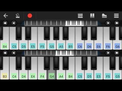Nee partha vizhigal - '3' keyboard version