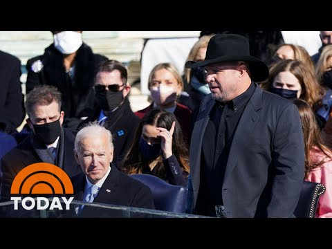 Garth Brooks Performs 'Amazing Grace' On Inauguration Day | TODAY