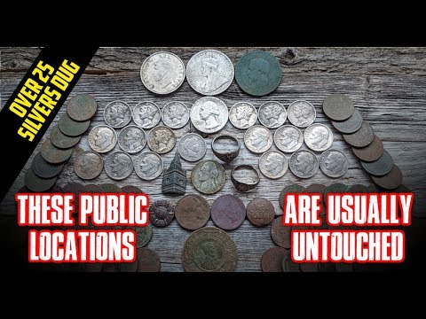 Public Location Infested With Over 25 Silvers!!