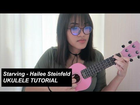 Starving - Hailee Steinfeld | UKULELE TUTORIAL
