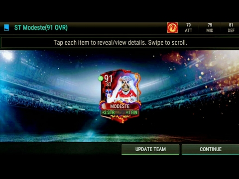 FIFA Mobile FRENCH MASKED MASTER Packed!! Carniball Kit Pack!!