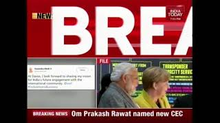 Ahead Of Davos Meet, PM Modi Expresses Optimism   India At WEF 2018