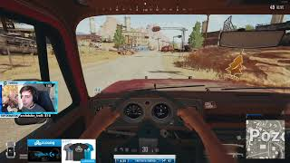 SHROUD FIRST WIN EVER ON NEW DESERT MAP! - Playerunknown's Battlegrounds