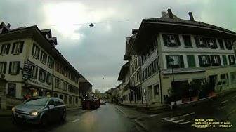 CH: Gemeinde Huttwil. Kanton Bern. Ortsdurchfahrt. November 2019