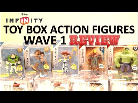 DISNEY STORE TOYBOX ACTION FIGURES WAVE 1 REVIEW