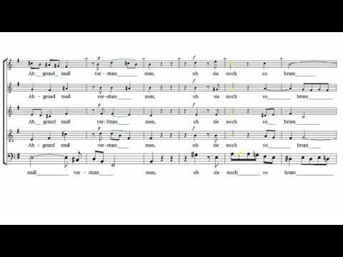 BASSO Jesu, meine Freude - Johann Sebastian Bach 1685-1750 - tutorial - scrolling score