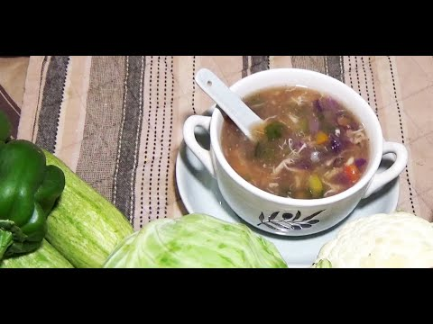 Chicken Rainbow Soup Recipe, AQ Meal healthy Recipe, Best Colorful vegetable Recipe