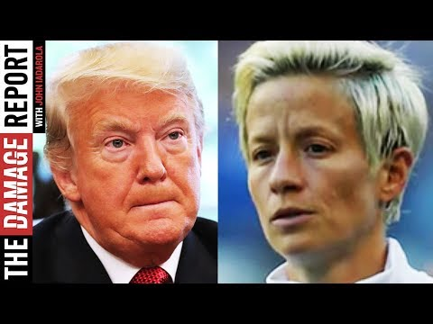 Megan Rapinoe ROASTS Trump