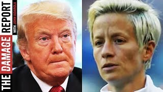 Megan Rapinoe ROASTS Trump