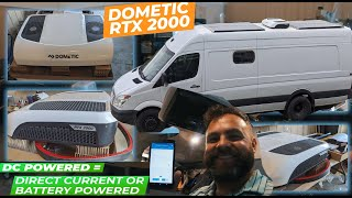 Solar Powered Air Conditioner |  INSTALL | Dometic RTX 2000 | 12V DC | Off Grid Air Con | Van Life