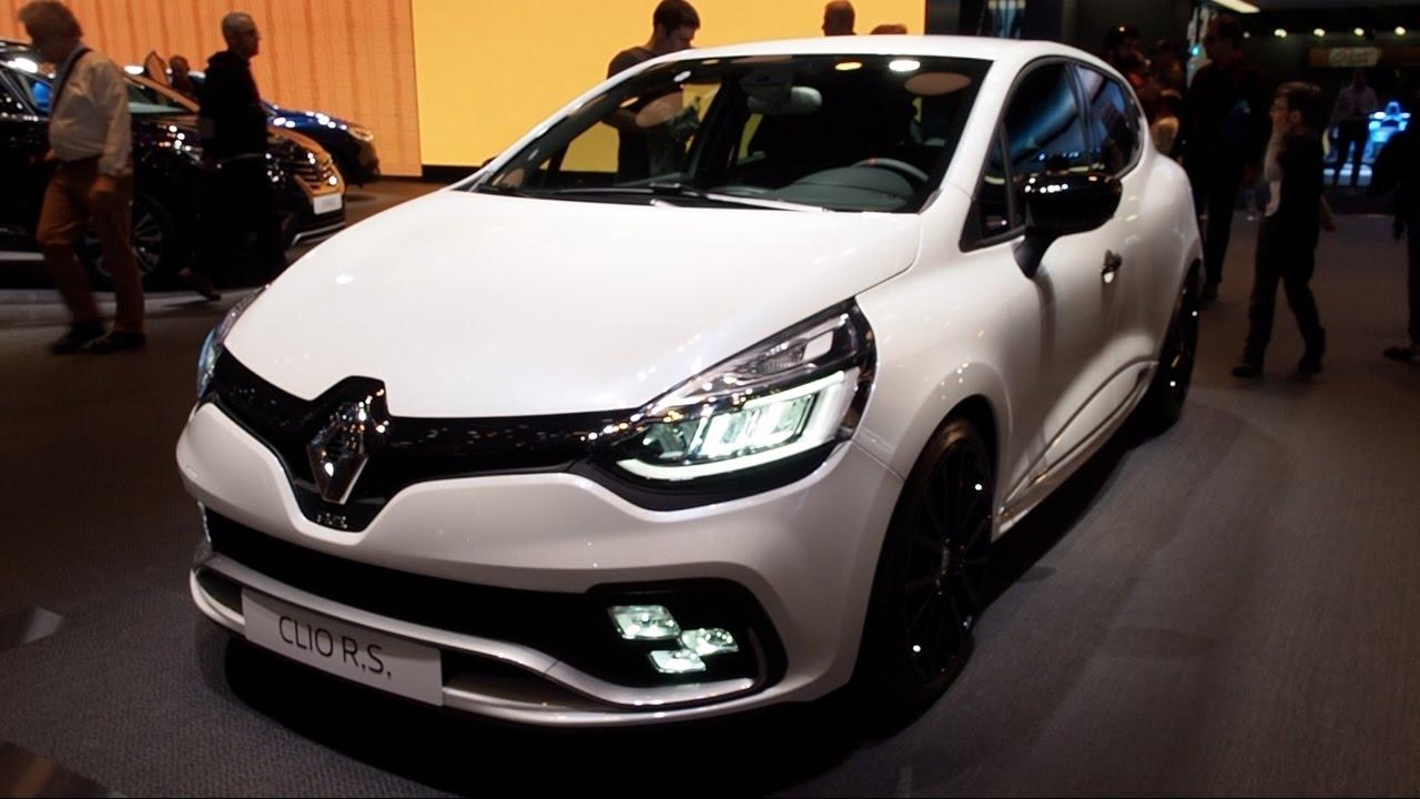 Renault Clio R S  2017 In Detail Review Walkaround