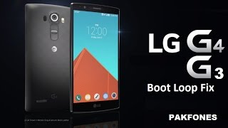 How to Fix LG G4 bootloop - With Battery